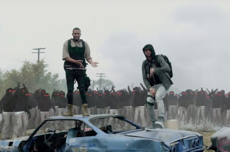 Eminem feat. Joyner Lucas – Lucky You. PREMIERA!