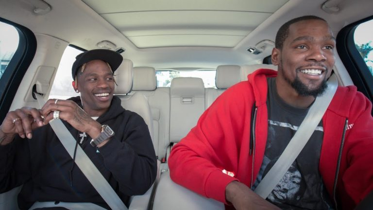 Travis Scott śpiewa w Carpool Karaoke!